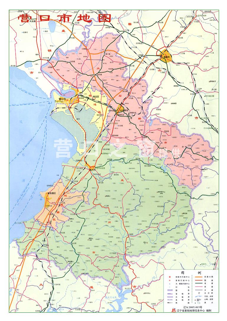 营口地图-营口网-营口市网上窗口