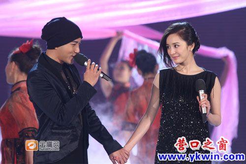 杨幂和陈坤在电影《门》中的一段亲热戏被网友