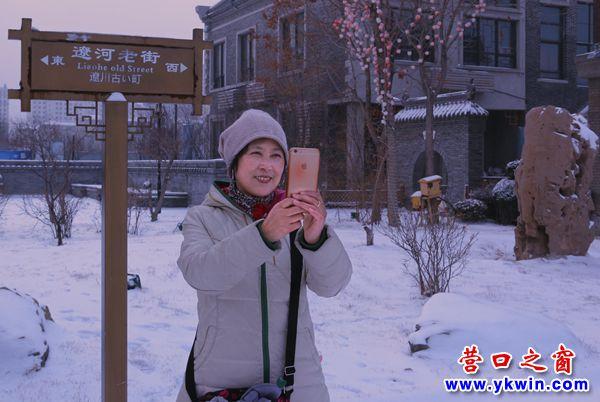 老街冬雪 1