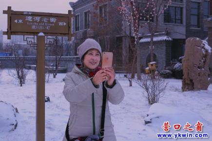 老街冬雪  银装世界