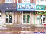 建设街边一居民楼顶漏水专浇一楼水族馆