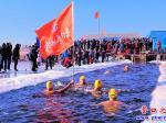营口市:冬泳迎新年