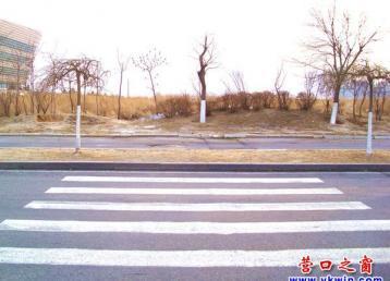 欲走斑马线必踩绿化岛的路口是谁设计的?