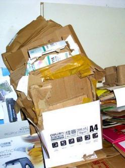 快递业迅猛发展 废纸盒身价倍增