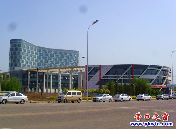 营口又一大型医院在营东新城拔地而起