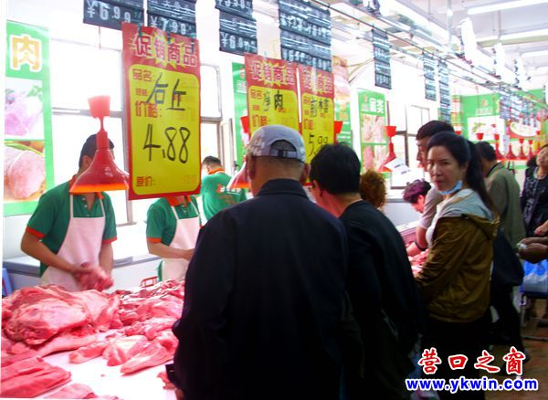 营口猪臀肉跌破5元低于芸豆价