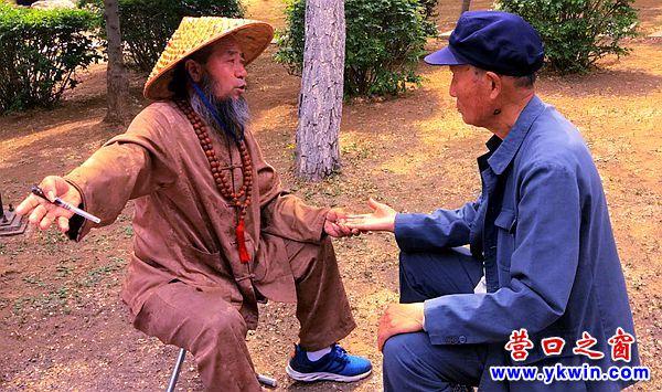 """营口:庙会算命奇景  各路""""大仙""""云集"""