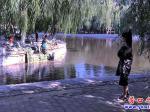 楞严寺公园:湖岸护堤全面维修