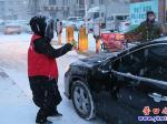 """西市场社区:大雪虽冷人有情  我是社区""""守护人"""""""
