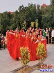 营口市慈善总会群众文化志愿者支队第三场惠民专场晚会